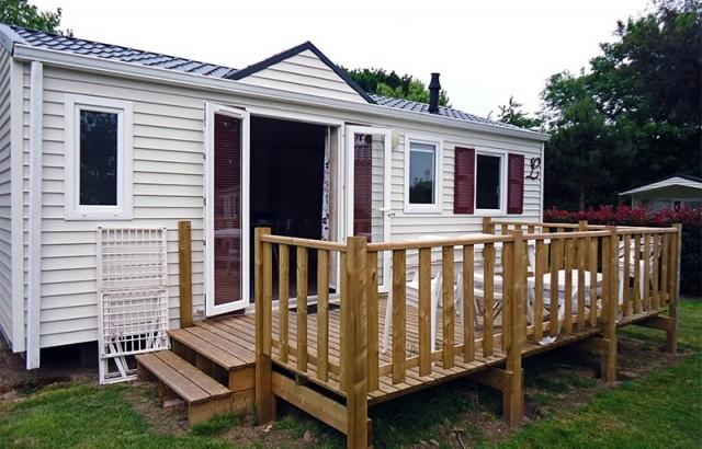 Cottage Ty Meur et sa terrasse en bois