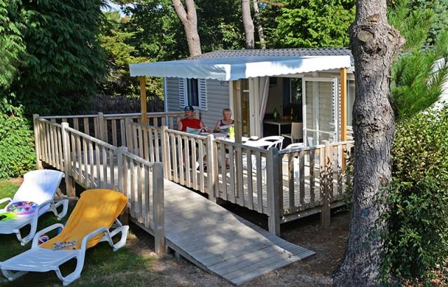 Cottage Dolmen PMR avec une rampe d'accès pour les fauteuils roulants