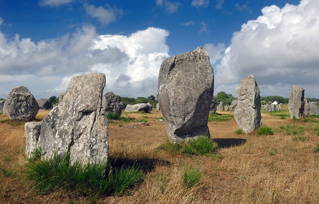 Les alignements de Carnac photo Yannick Le Gal