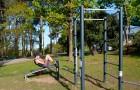 Aire de fitness extérieur gratuite