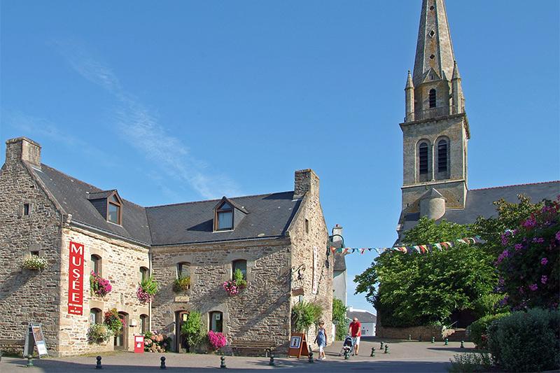 Baden, clocher et musée