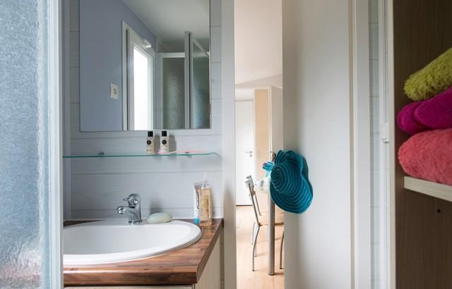 Salle de bain du cottage Bretagne