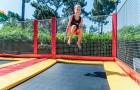 Grands trampolines