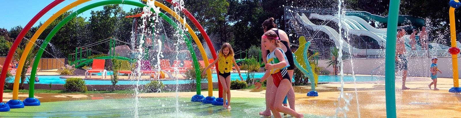 Parc aqualudique pour le plus grand bonheur des enfants!