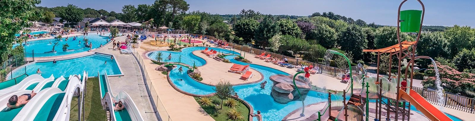 Parc aquatique XXL et piscine couverte sur une surface de 3800m²