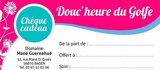 For a gift Spa Douc'heure du Golfe du Baden