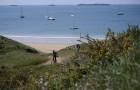 Vélo sur les îles du Ponant photo Ronan Gladu