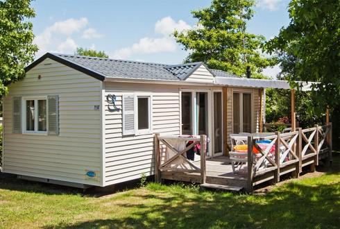 Cottage Dolmen avec terrasse couverte pour 6 personnes