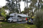 Emplacement pour grand camping-car