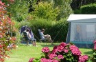 Emplacement au calme pour tente et caravane