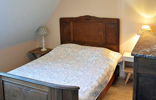 Chambre double de la villa Er Scoudec