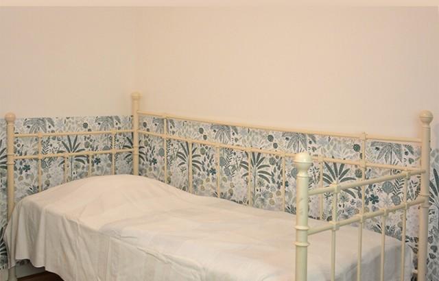 Chambre au RDC 2 lits simples