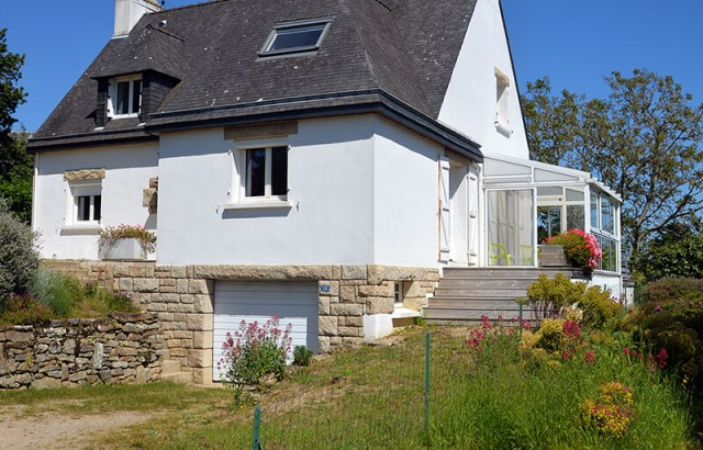 Villa Er Scoudec et sa véranda