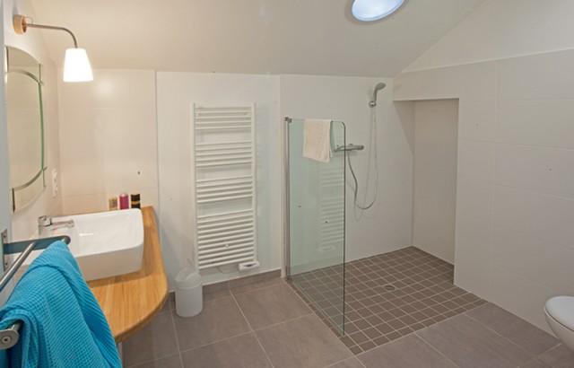 Salle de bain du studio l'Etable