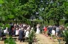 Mariage laîc et champêtre à Mané Guernehué