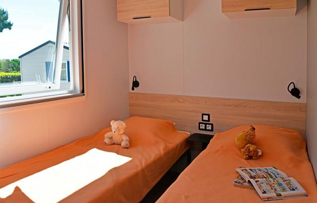 Chambre du cottage Morbihan
