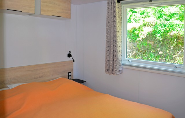Chambre parents du cottage Morbihan