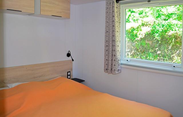 Chambre parents du cottage Morbihan