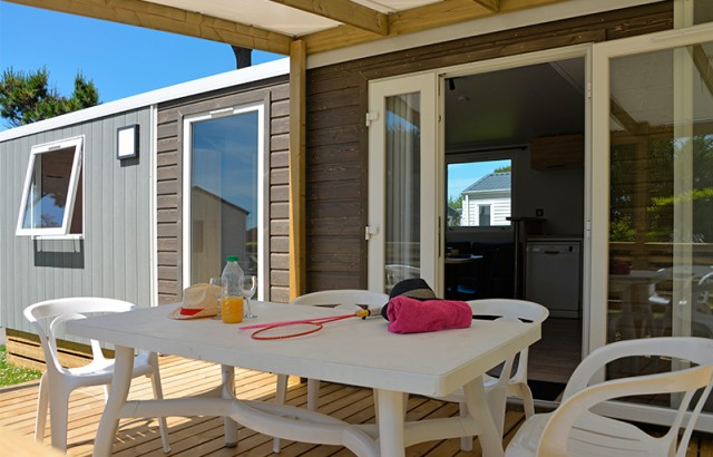terrasse du cottage Morbihan