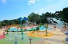 Nouveau parc aqualudique au camping Mané Guernehué