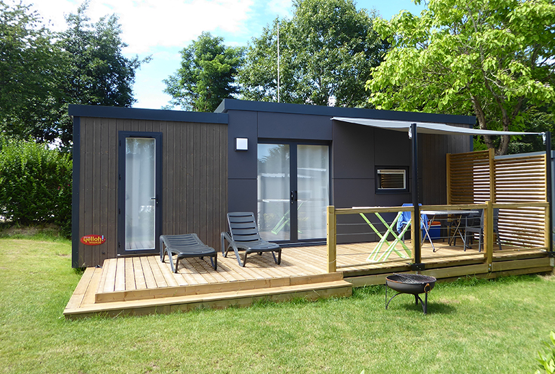 Cottage Patio Pour 4 Personnes Camping Man 233 Guernehu 233