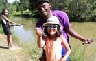 Les joies de la pêche en étang