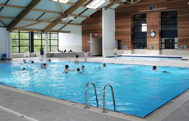 Mane Guernehue indoor swimming pool