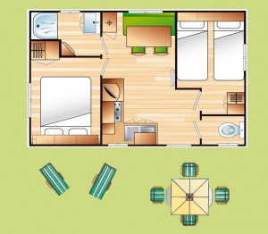 Plan Cottage Penty