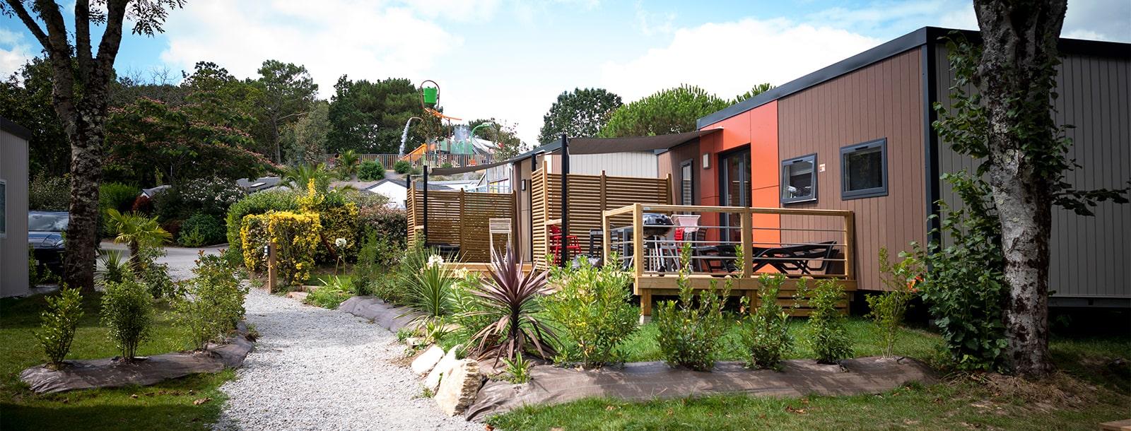 Nouveaux quartiers dans un parc de verdure de 20 ha