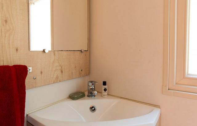 Salle de bain de la roulotte