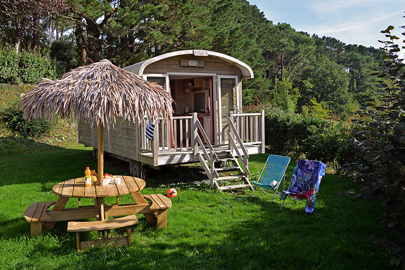 Roulotte Gipsy Caravan For A Family Of 4 Campsite In Baden