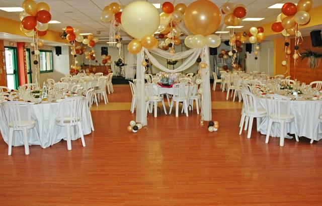 Salle de réception de 300m²