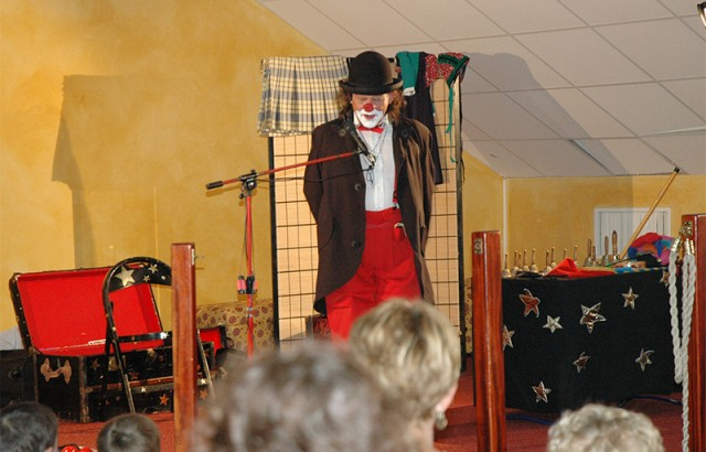 Le clown Gaston Blutt