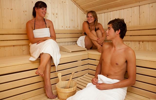 Sauna à l'espace Aqua-Zen
