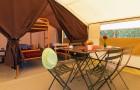 Séjour de la tente Safari