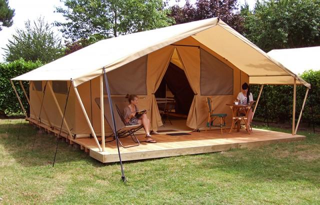 Tente Safari meublée pour 5 personnes