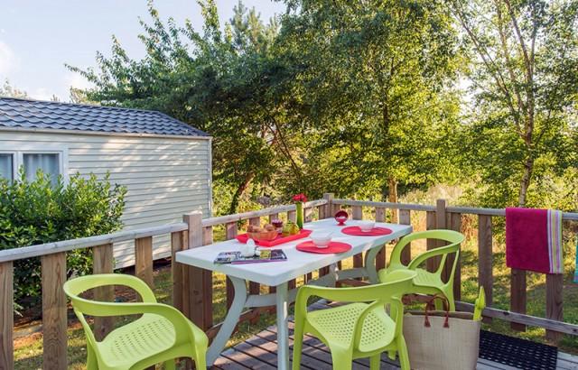 Terrasse de 11m² pour le cottage Ty Meur