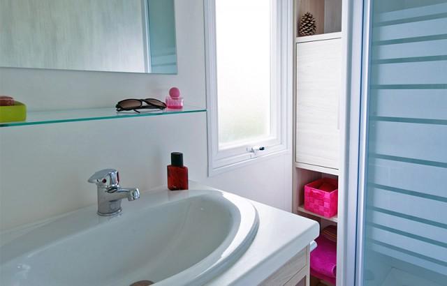 Salle de bain du cottage Ty Meur