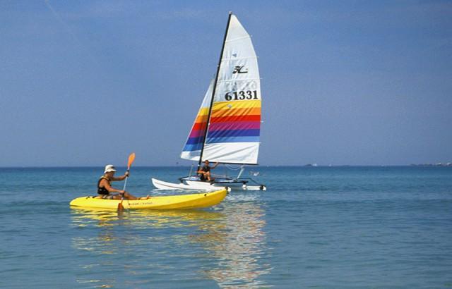 Voile et kayak sur le Golfe du Morbihan