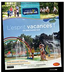 Brochure du camping Mané Guernehué