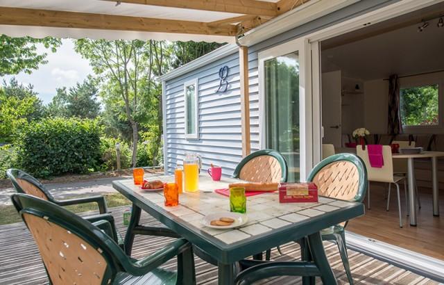 Grande terrasse de 22m² pour le cottage Family