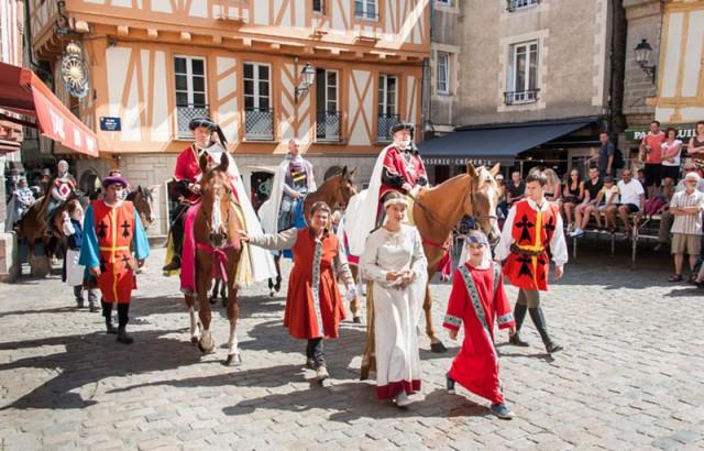 Fêtes Historiques de Vannes 13 et 14 juillet