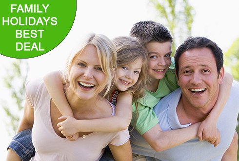 Family holidays best deal
