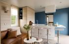 Salon confortable et cuisine ©O'Hara