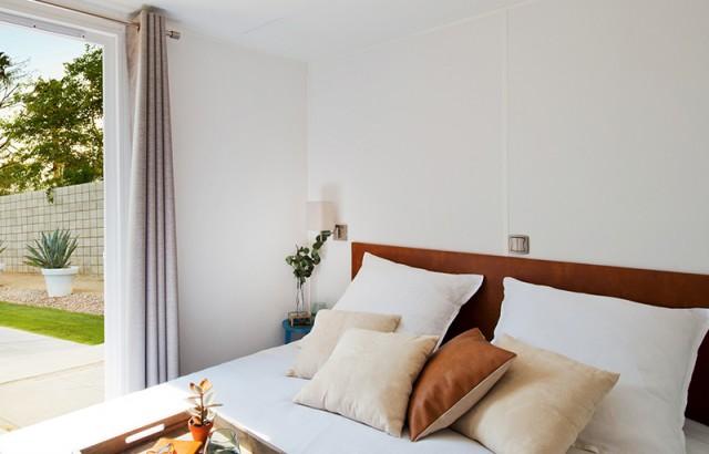 Chambre parentale avec un lit double en 160x200 ©O'Hara