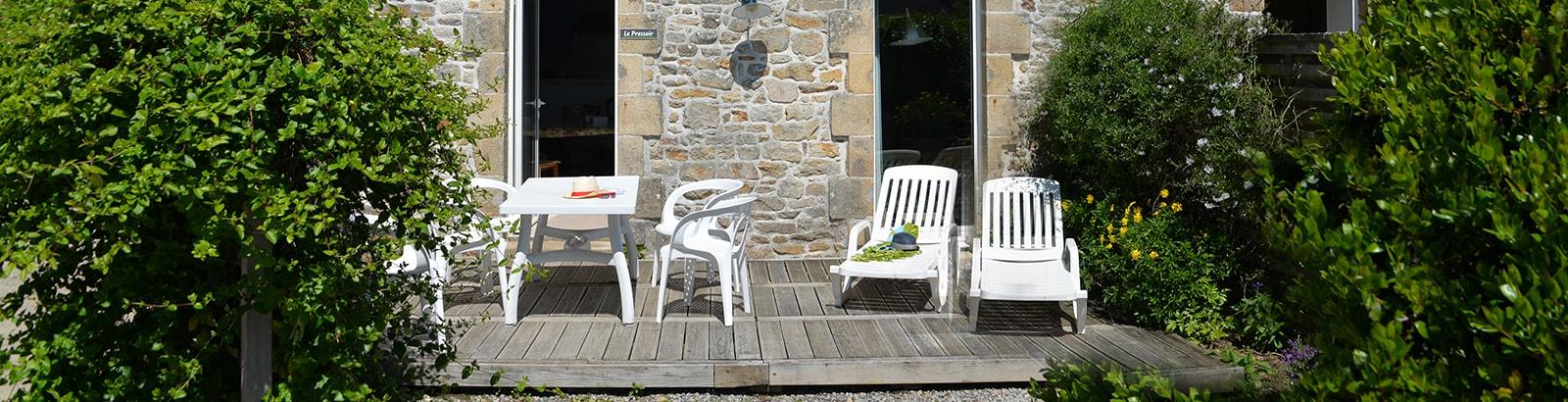 Gîte authentique pour 6 personnes avec jardin et terrasse privés