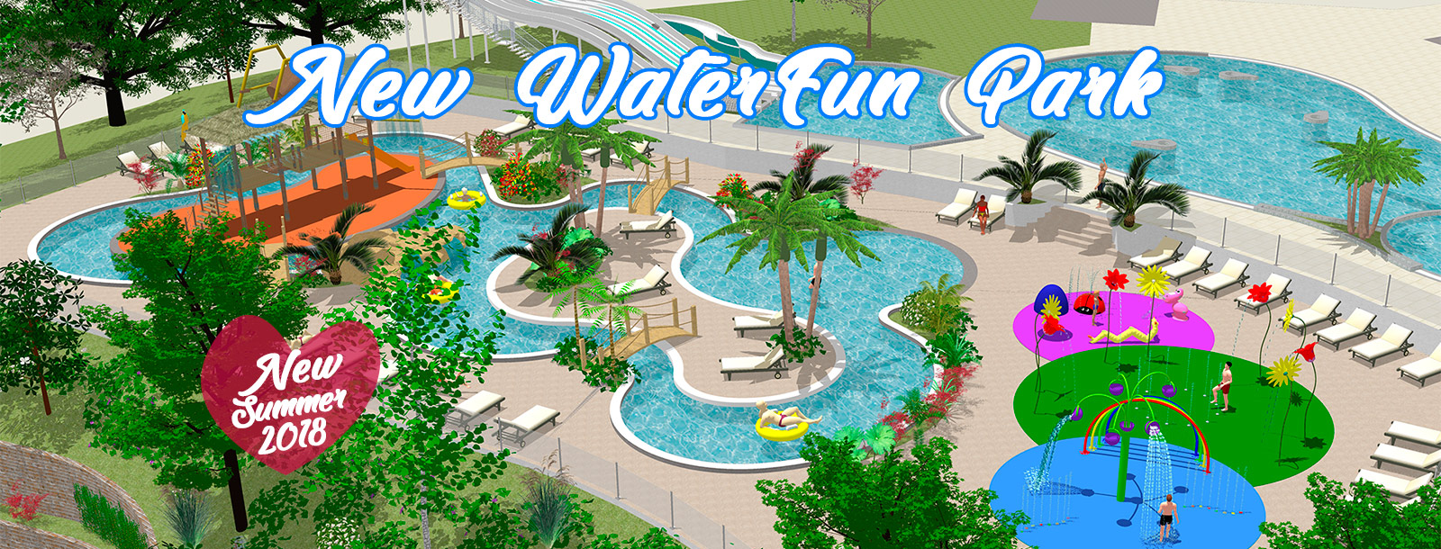 The Aquatic Park double its size for unforgettable holidays!