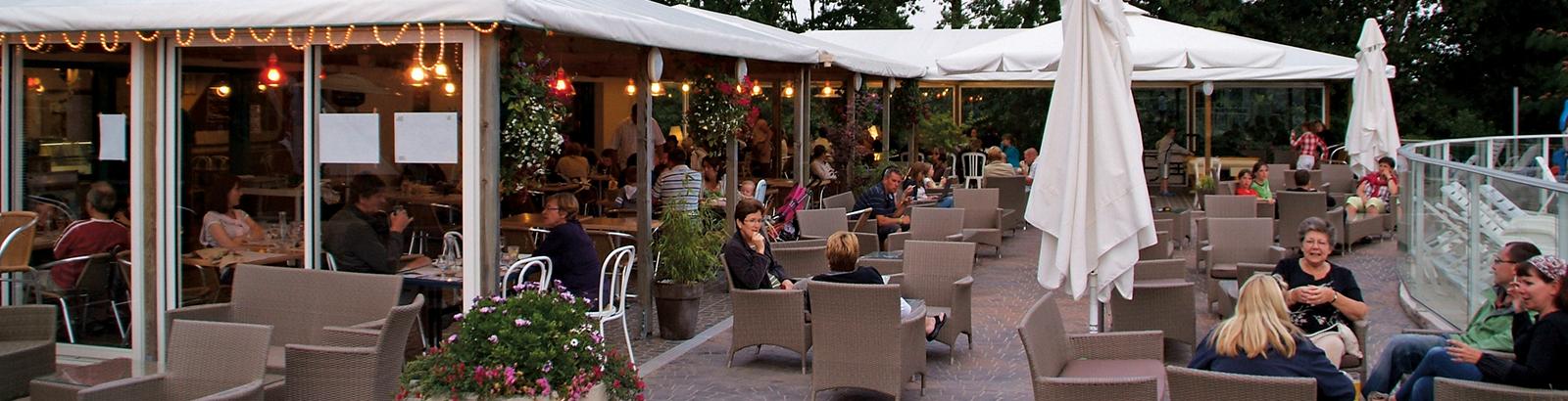 Het restaurant 'Le Petit Vézit'