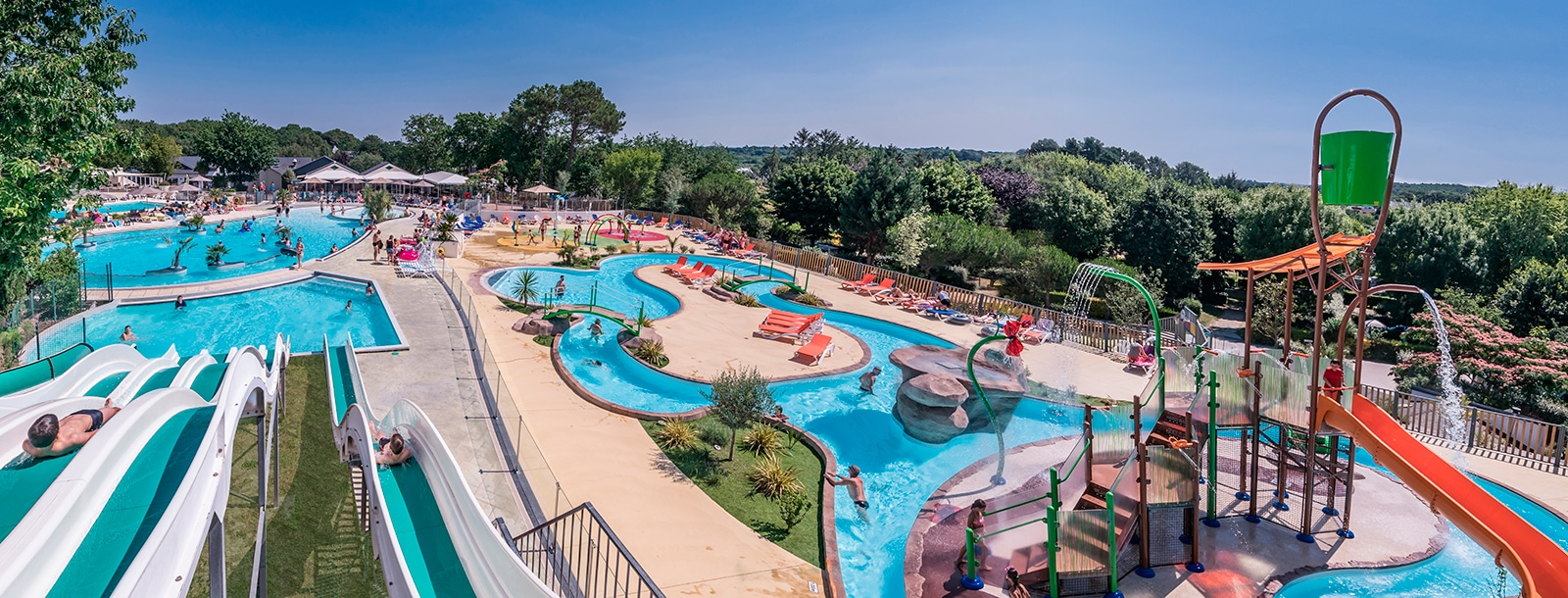 New aquafun park and extra large waterpark!