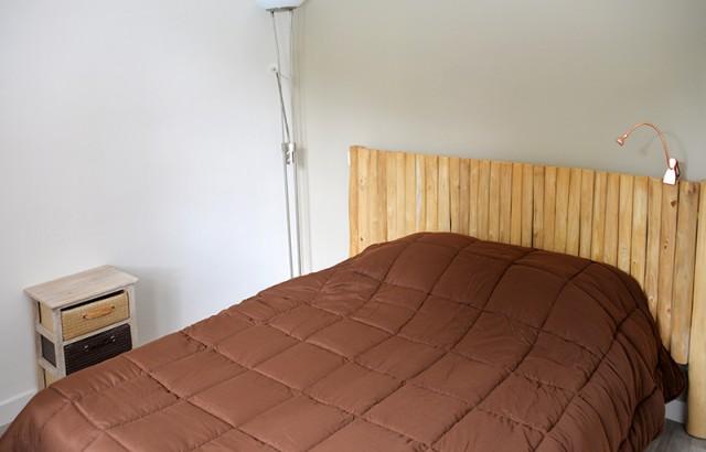 Chambre double lit 140x190cm au rez-de-chaussée
